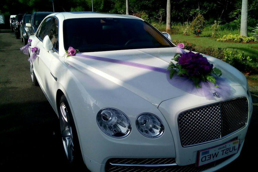 sewa-mobil- mewah- Benttley -pengantin-Wedding car