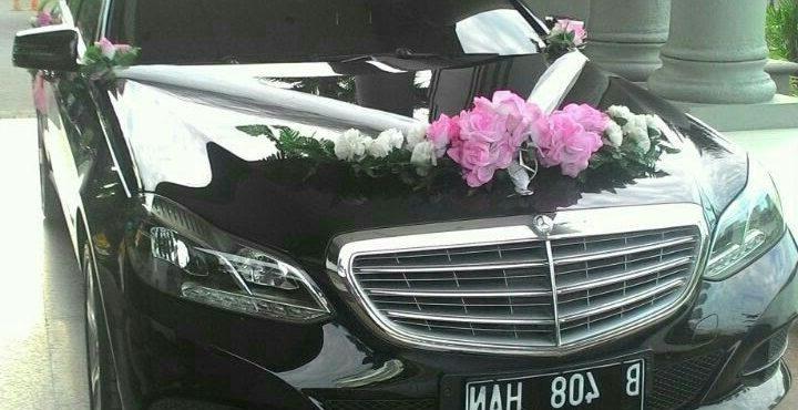 sewa-rental-mobil-mewah-mercedes bens-e class-pengantin-weddding car