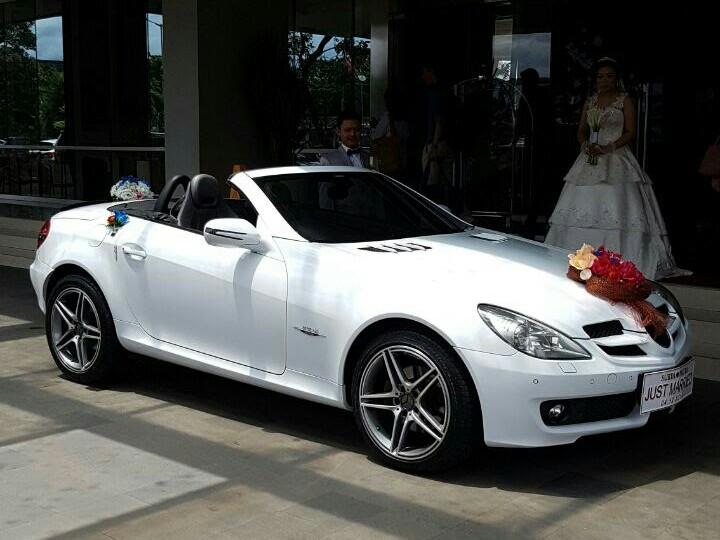 SEWA-RENTAL-MOBIL-MERCEDES BENZ- SLK-PENGANTIN-WEDDING CAR