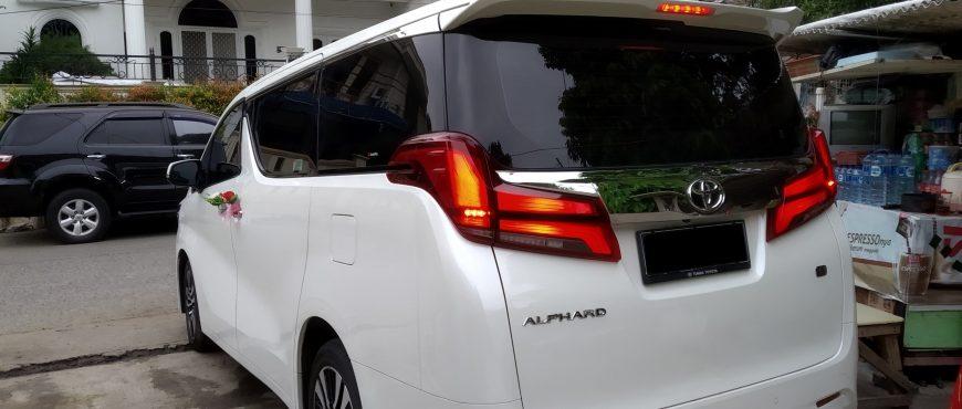 Alphard Transformer Facelift Sewa Mobil Pengantin, Rental Mobil Mewah Jakarta, Wedding Car Jakarta, Rent Car Jakarta 1